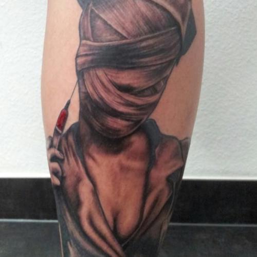 Tattoo von Dominic Silent Skill - Trier