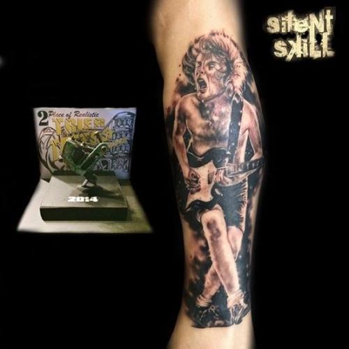 Tattoo von Marco Silent Skill - Trier
