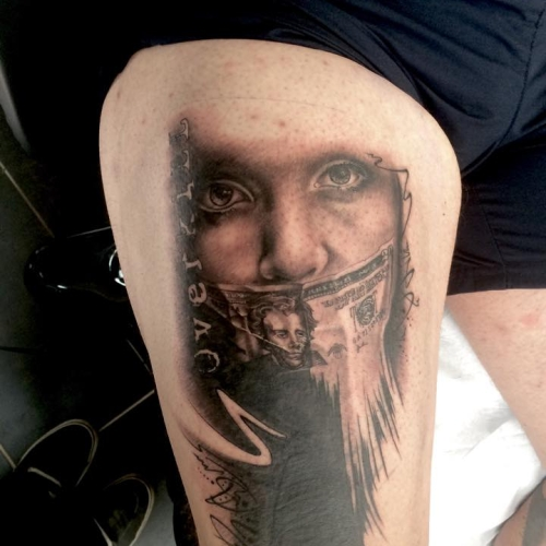 Tattoo von Joel Silent Skill - Trier